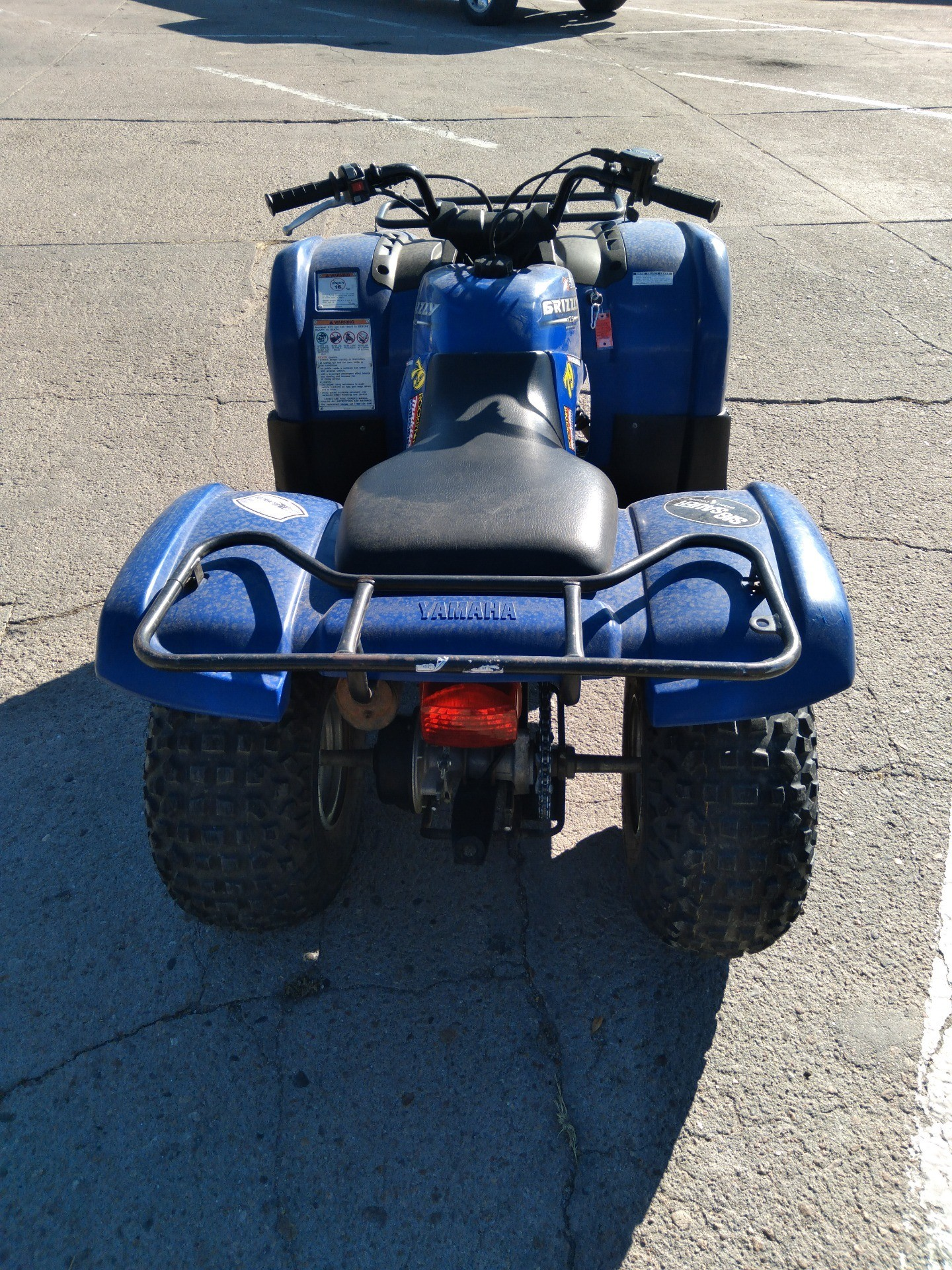 2006 Yamaha Grizzly 125 Automatic in Sterling, Colorado - Photo 4