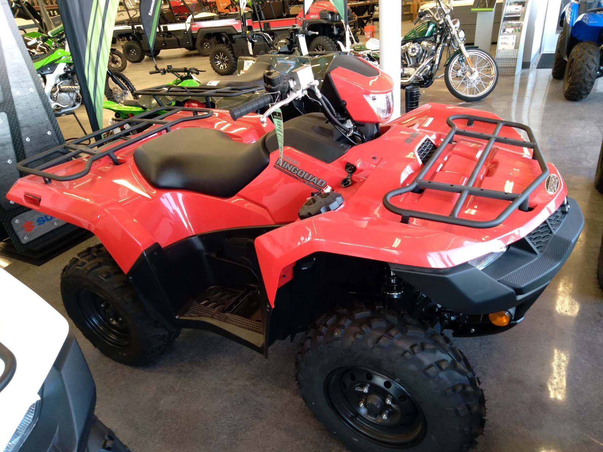 2020 Suzuki KingQuad 500AXi Power Steering in Sterling, Colorado - Photo 1