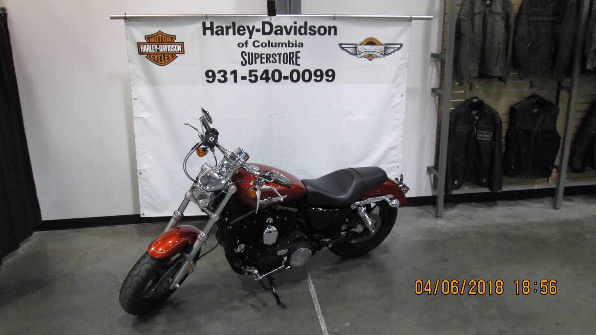 2013 Harley-Davidson Sportster® 1200 Custom in Columbia, Tennessee