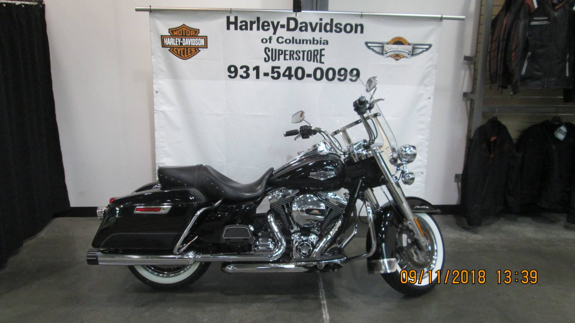 Used 2015 Harley Davidson Road King Motorcycles In Columbia Tn Tour Pack Tennessee