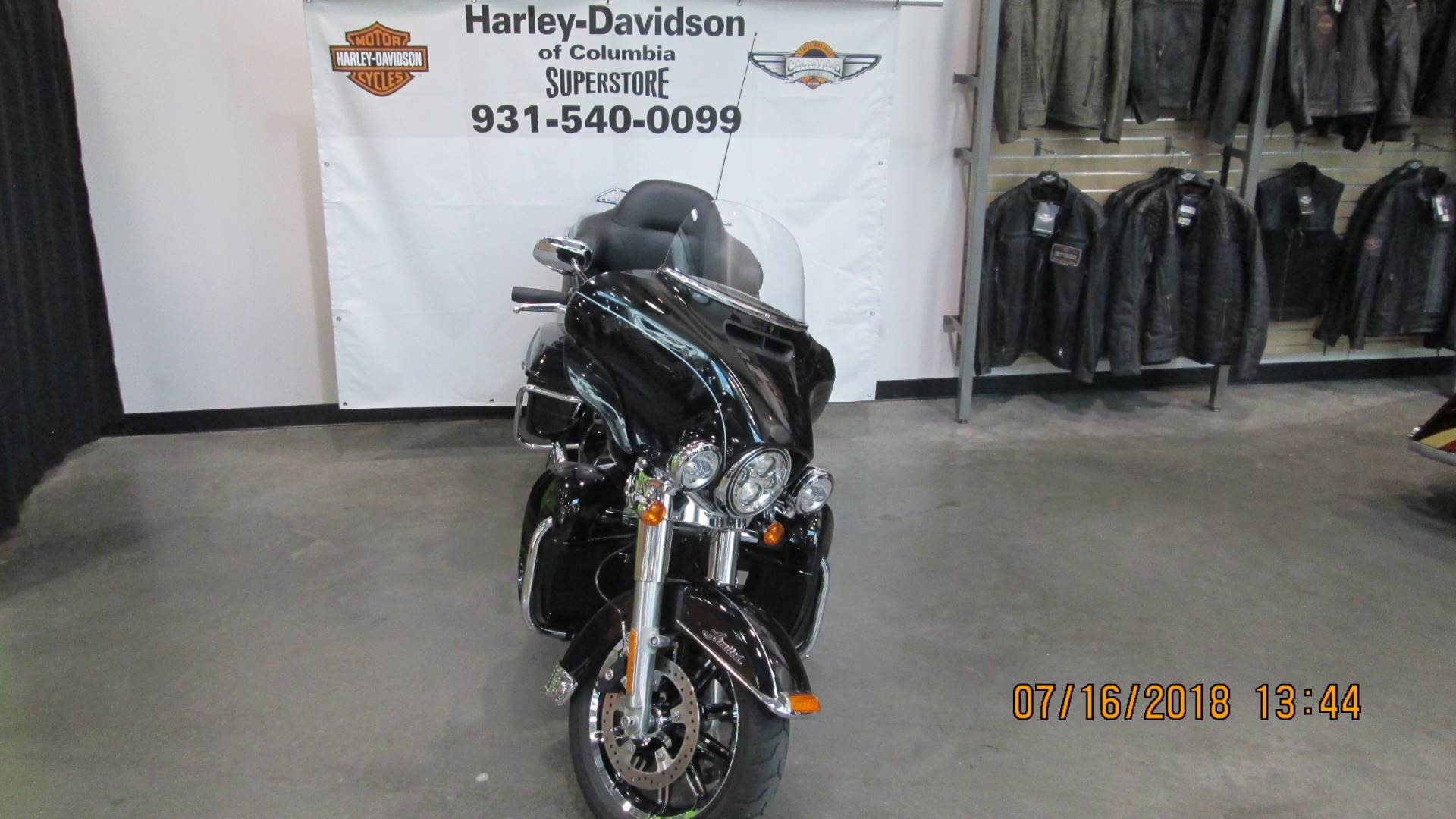 2017 Harley-Davidson Ultra Limited in Columbia, Tennessee