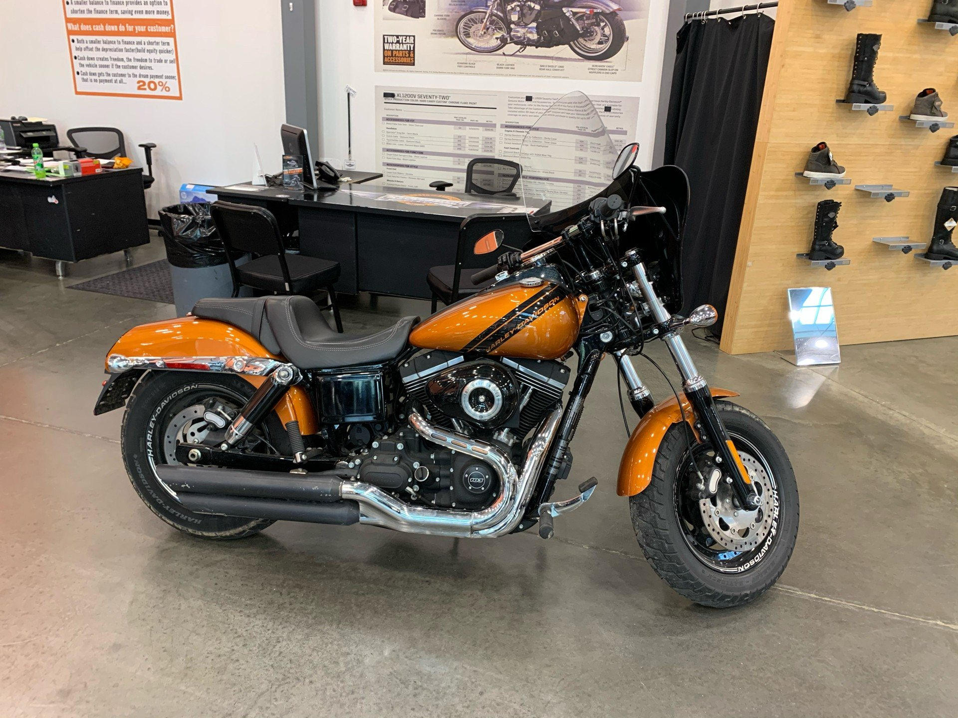 2014 Harley-Davidson FAT BOB in Columbia, Tennessee - Photo 1