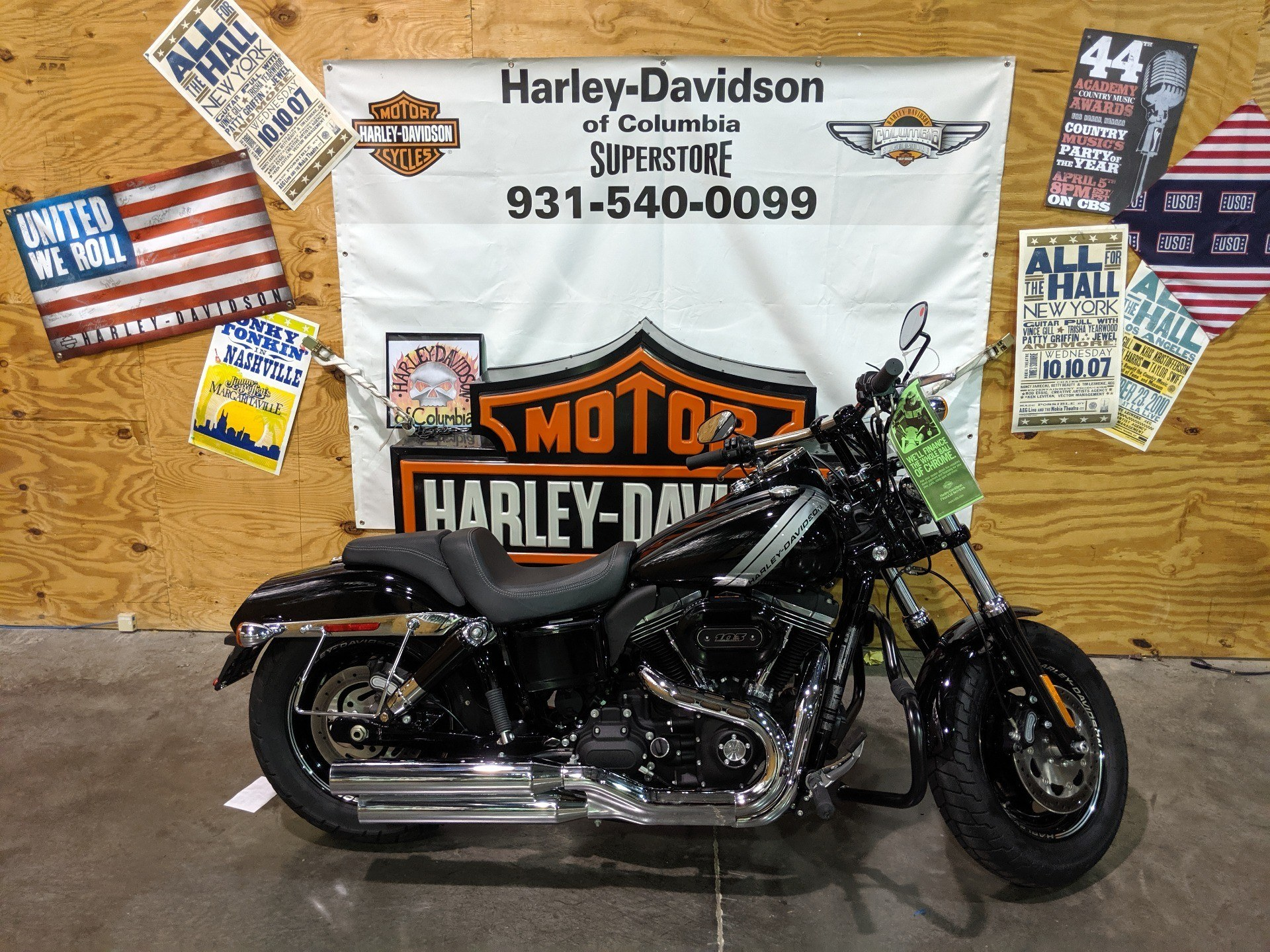 2017 Harley-Davidson FAT BOB in Columbia, Tennessee - Photo 1
