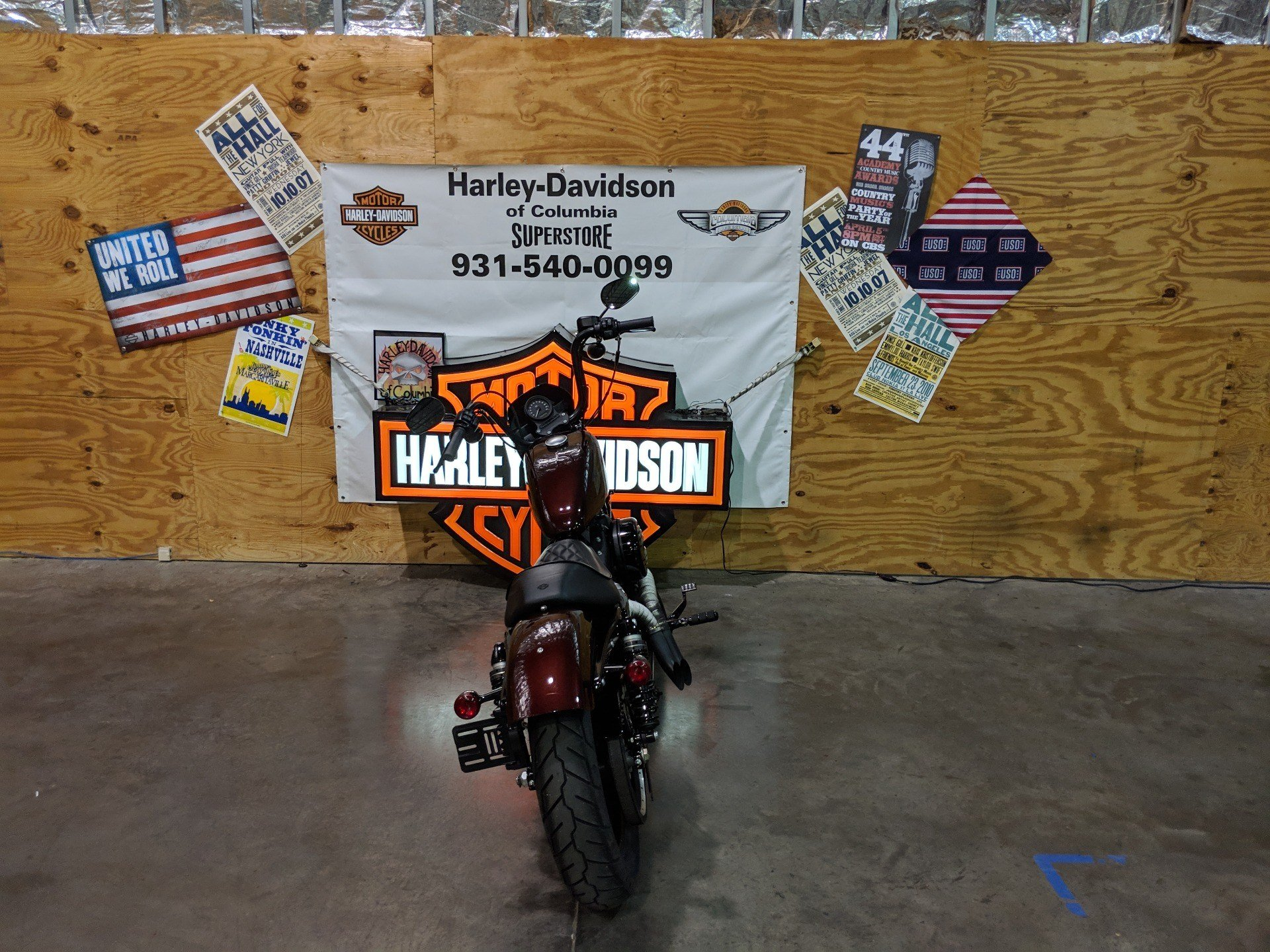 2018 Harley-Davidson xl1220n in Columbia, Tennessee
