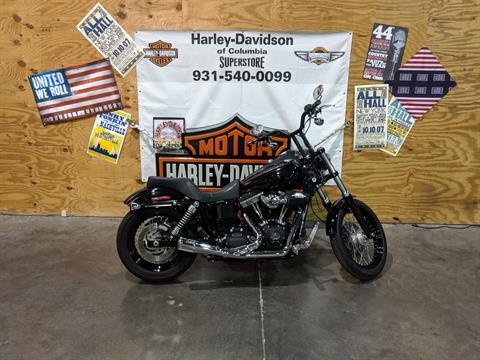 2015 Harley-Davidson street bob in Columbia, Tennessee - Photo 1