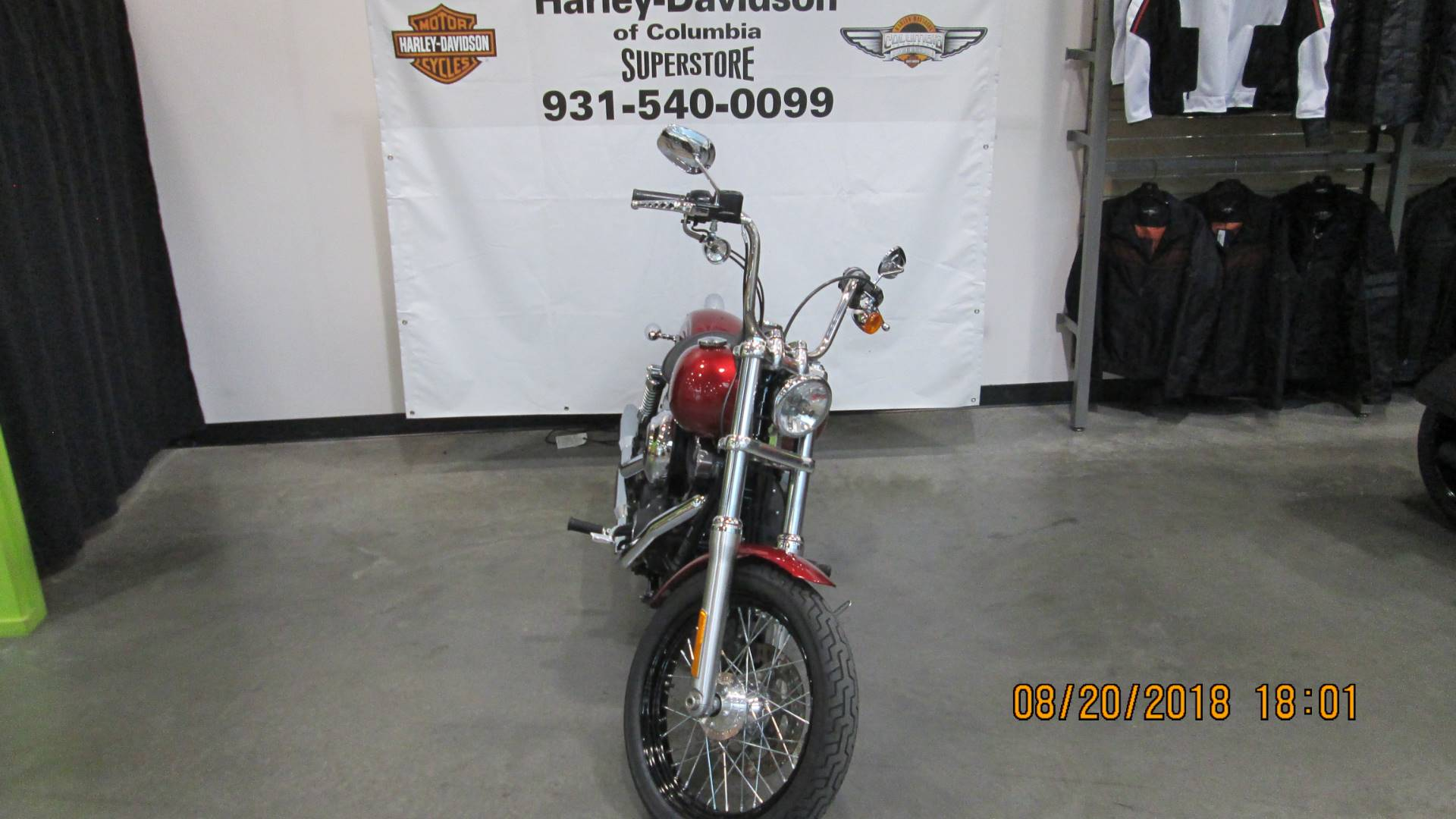 2012 Harley-Davidson Dyna® Street Bob® in Columbia, Tennessee