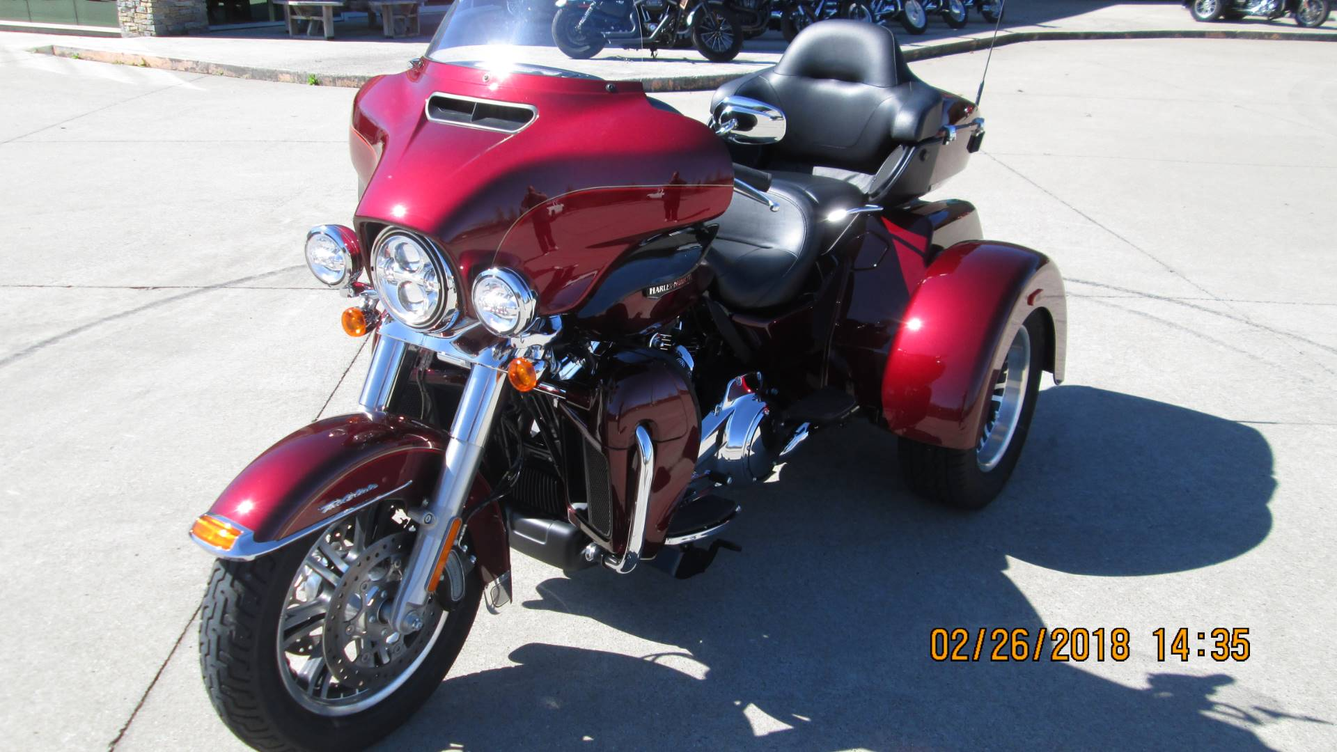 2017 Harley-Davidson Tri Glide® Ultra in Columbia, Tennessee