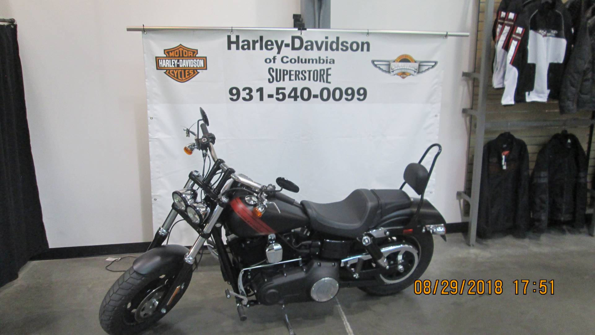 2017 Harley-Davidson Fat Bob in Columbia, Tennessee