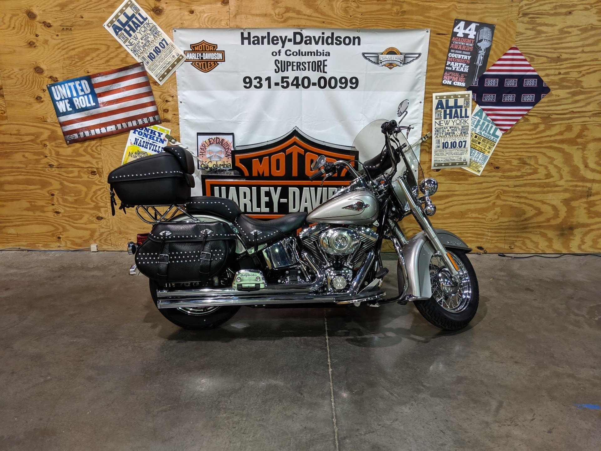 2009 Harley-Davidson FLSTC in Columbia, Tennessee - Photo 1