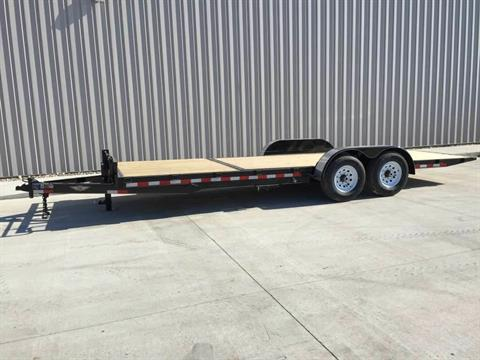 2017 H&H 16+6 GRAVITY TILT FLATBED TRAILER in Atlantic, Iowa