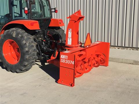 2017 KIOTI NX6010 HST Cab w/ Snow Blower in Atlantic, Iowa