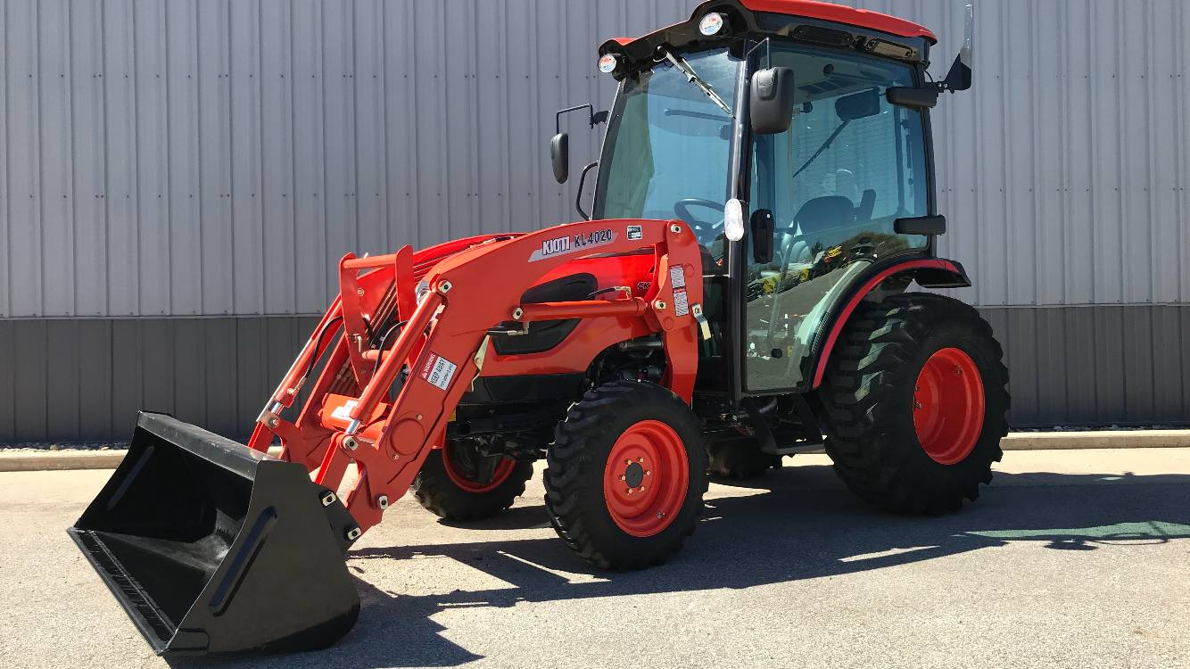 2017 KIOTI CK3510SEHCB  Tractor with Cab and Loader in Atlantic, Iowa