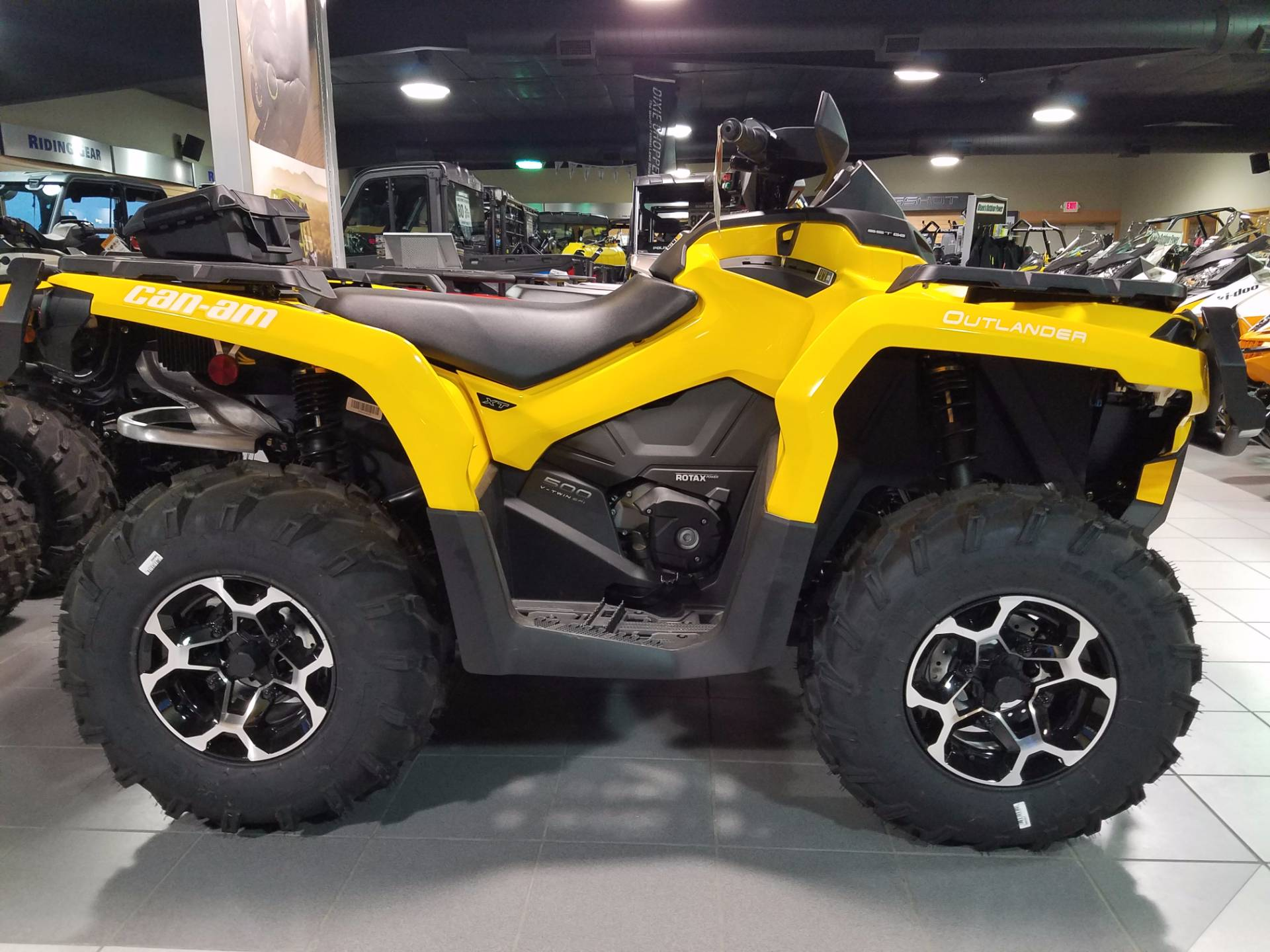 2015 Can-Am Outlander XT 500 for sale 8836