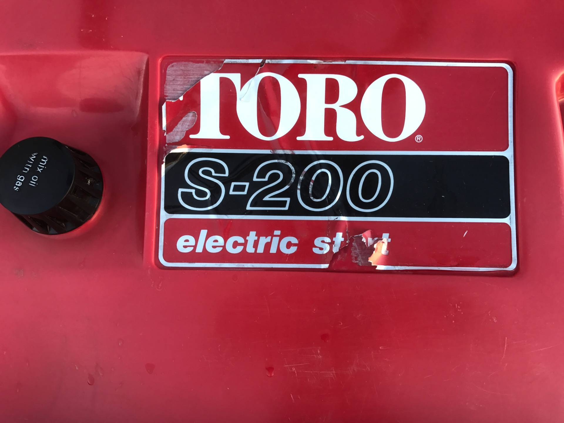 0 Toro S200 in Atlantic, Iowa