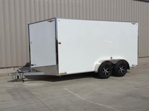 2017 H&H 7x16 ALUMINUM CARGO TRAILER in Atlantic, Iowa