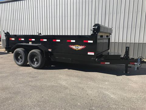 2017 H&H H&H 14' DB DUMP TRAILER in Atlantic, Iowa