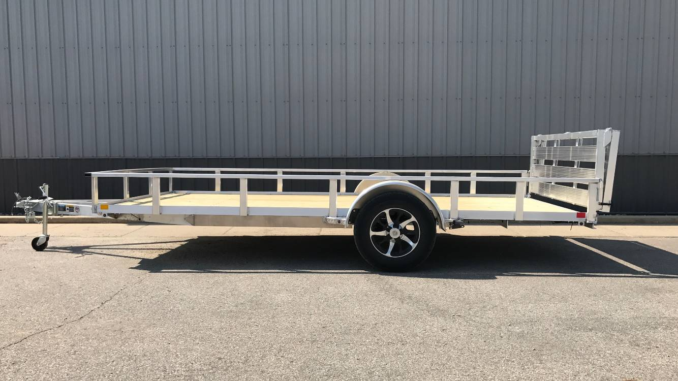 2018 H&H 82x14 RSA Utility Trailer in Atlantic, Iowa