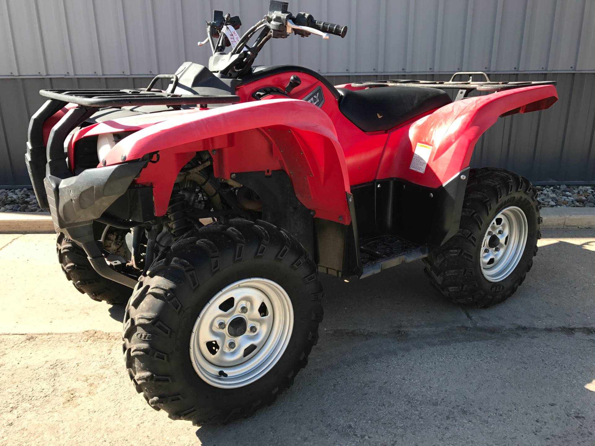2007 Yamaha Grizzly 700 FI Auto. 4x4 in Atlantic, Iowa