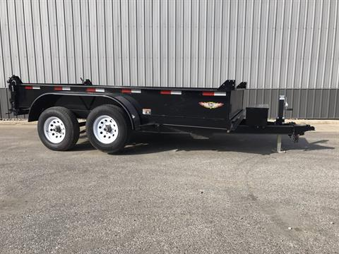 2017 H&H 14 FT DB Dump Trailer in Atlantic, Iowa