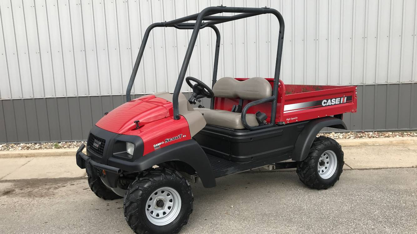 2012  Case IH Scout (4x4) for sale 4436