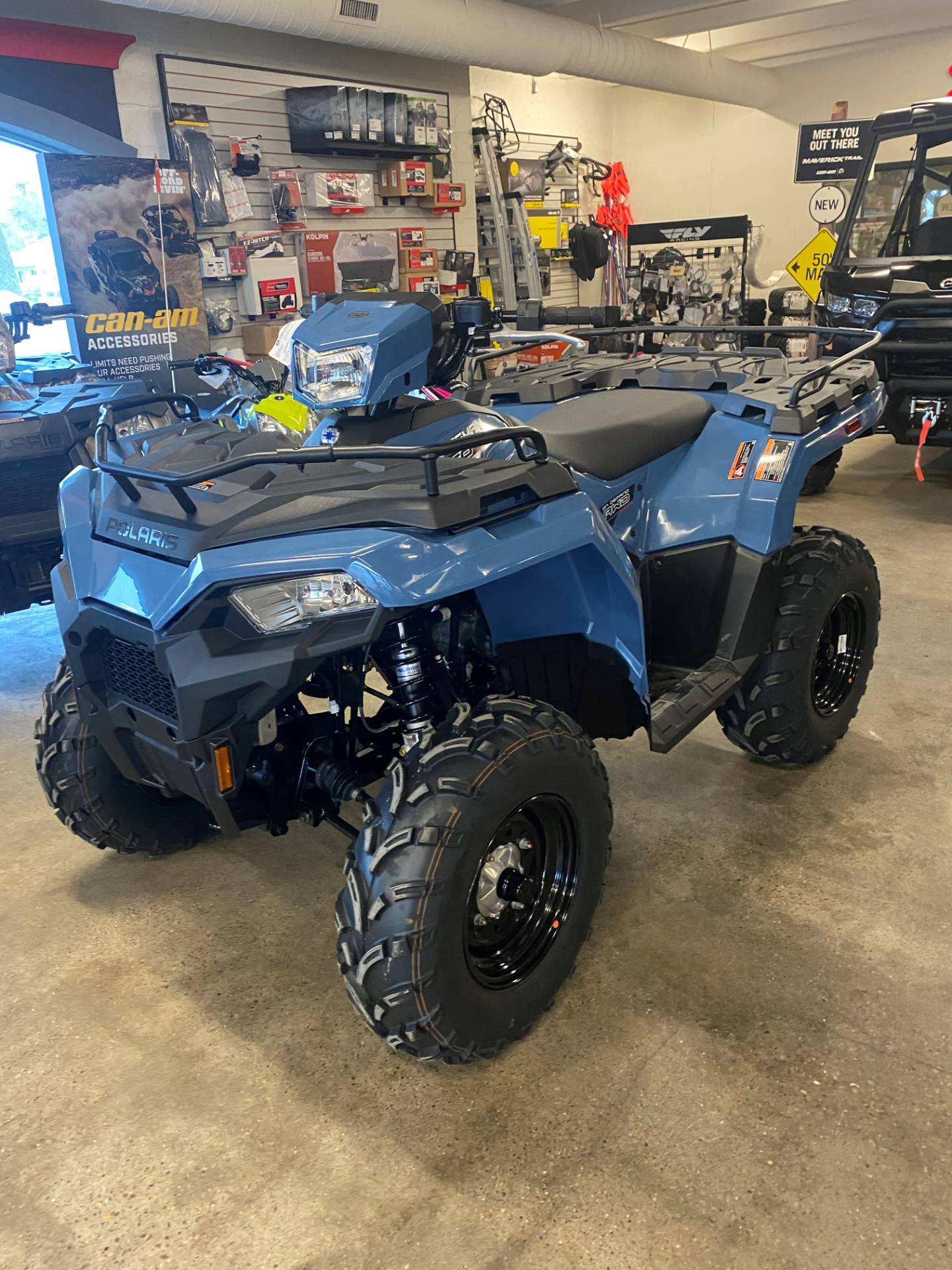 2021 Polaris Sportsman 450HO EPS in Pocatello, Idaho - Photo 2