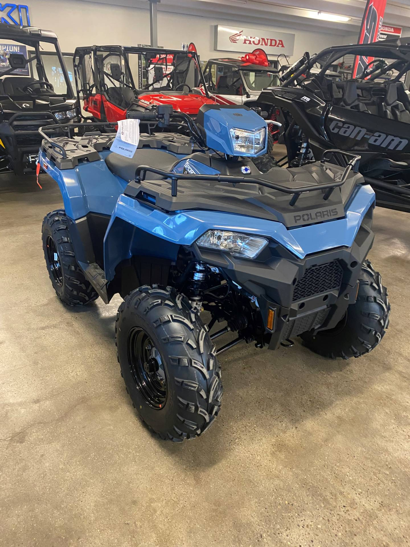 2021 Polaris Sportsman 450HO EPS in Pocatello, Idaho - Photo 3