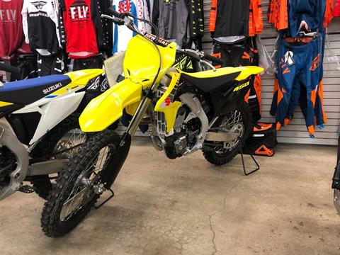 2017 Suzuki RMZ 450 in Pocatello, Idaho - Photo 1