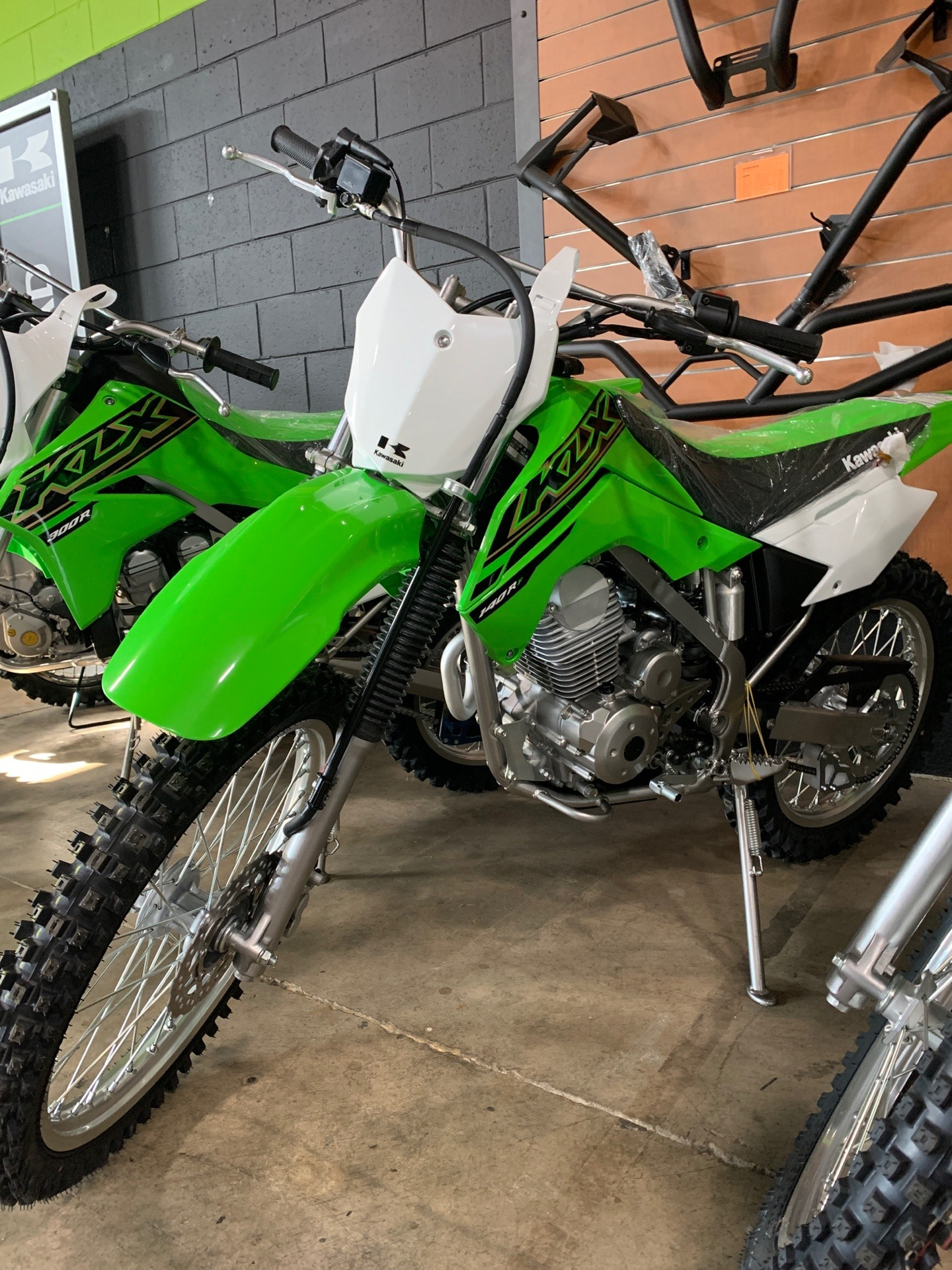 2021 Kawasaki KLX 140R F in Woodstock, Illinois - Photo 1