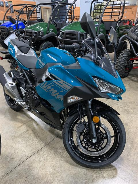 2021 Kawasaki Ninja 400 ABS in Woodstock, Illinois - Photo 1