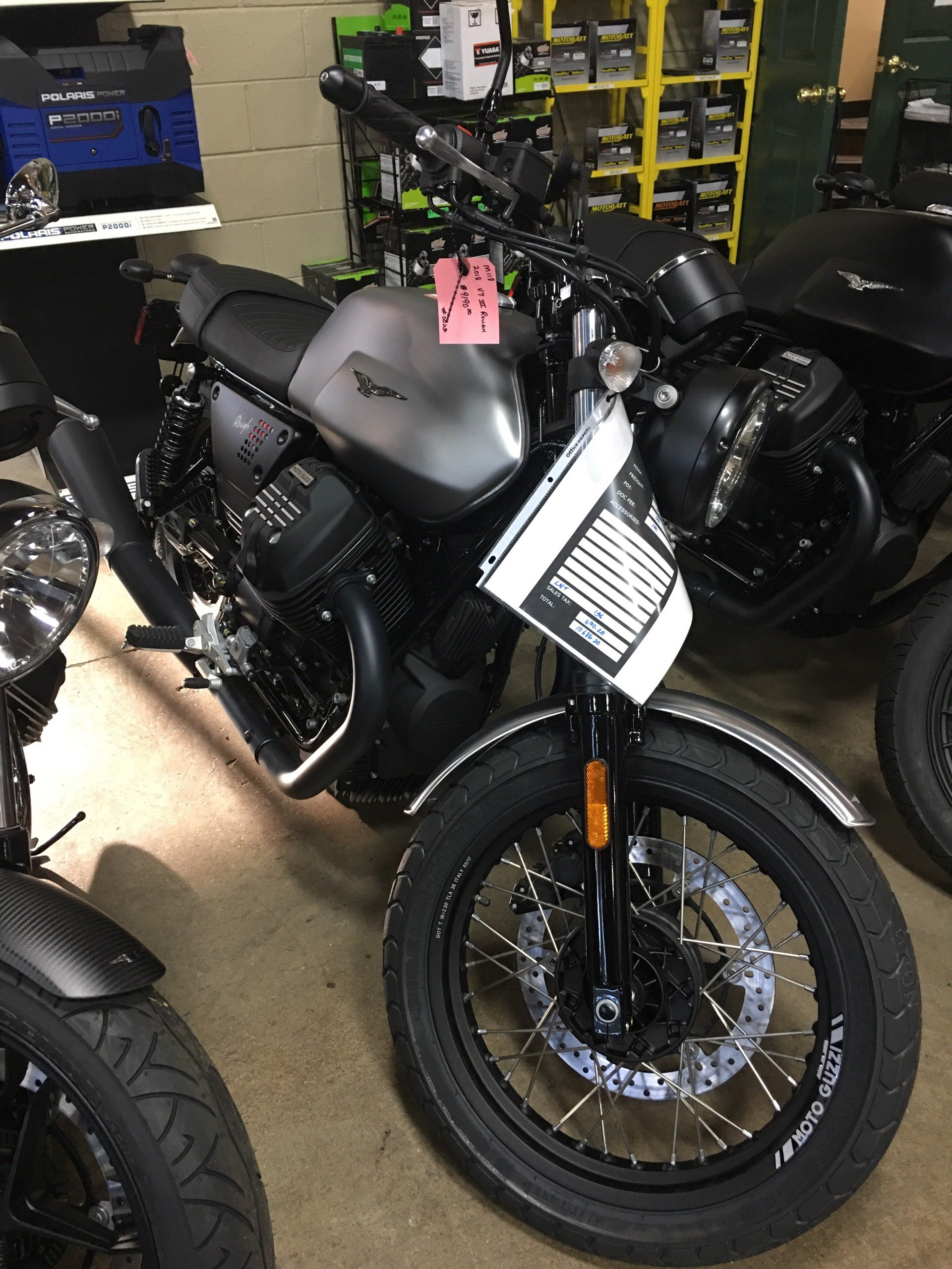 2018 Moto Guzzi V7 III Rough in Woodstock, Illinois