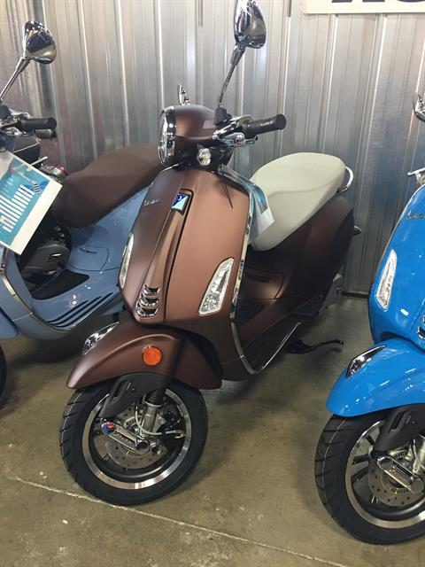 2019 Vespa Primavera 50th Anniversary 150 cc in Woodstock, Illinois
