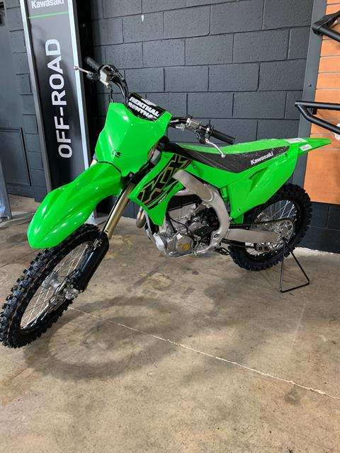 2021 Kawasaki KX 450 in Woodstock, Illinois - Photo 1