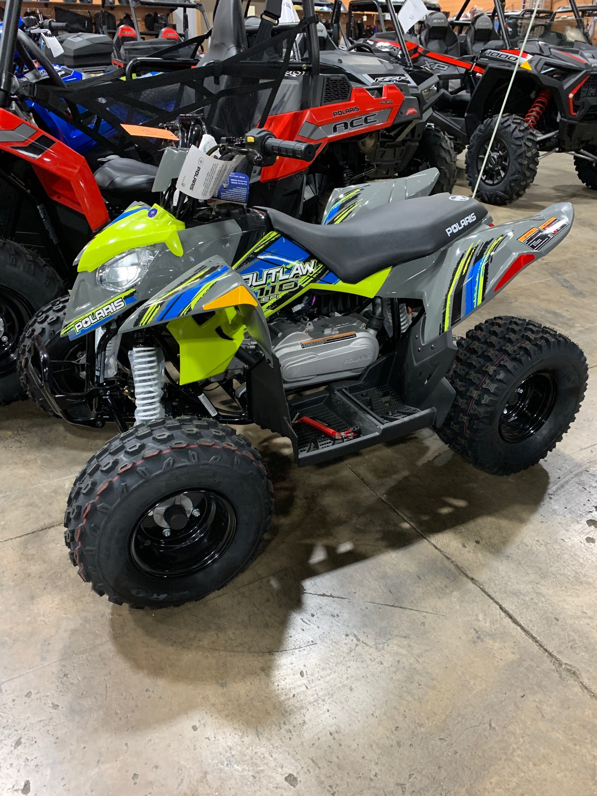 2019 Polaris Outlaw 110 in Woodstock, Illinois - Photo 1