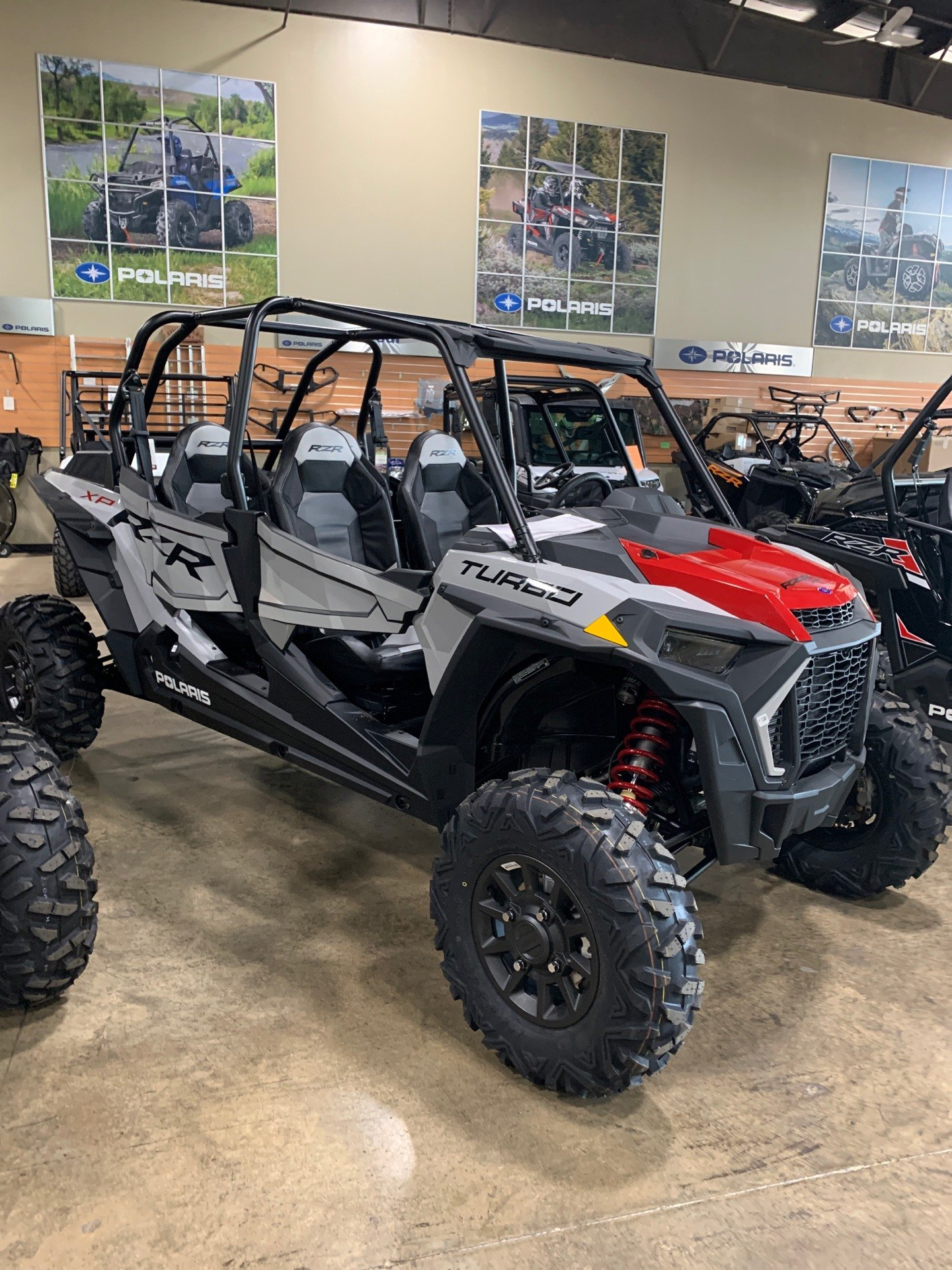 2021 Polaris RZR XP 4 Turbo in Woodstock, Illinois - Photo 1