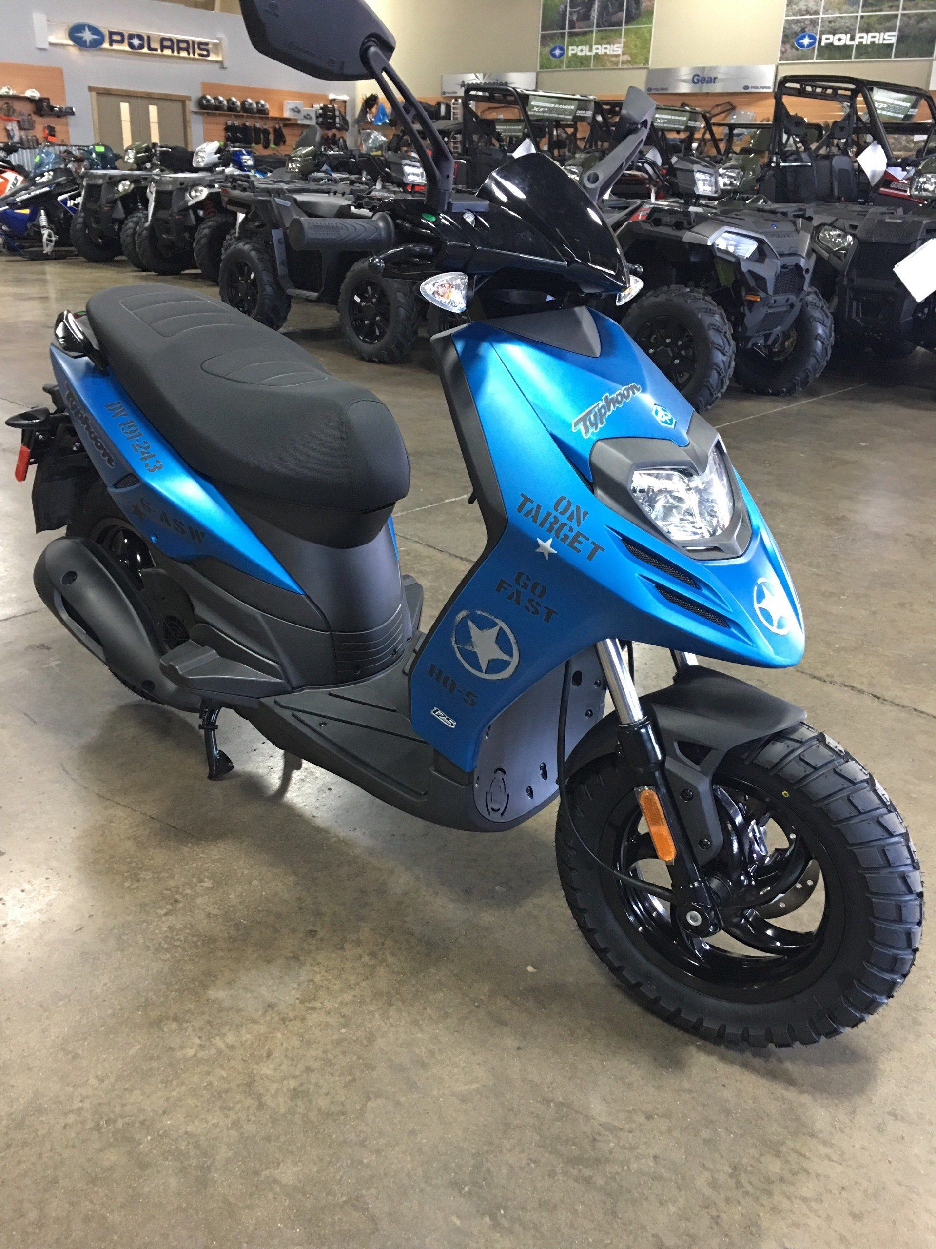 2018 Piaggio Typhoon 125 in Woodstock, Illinois