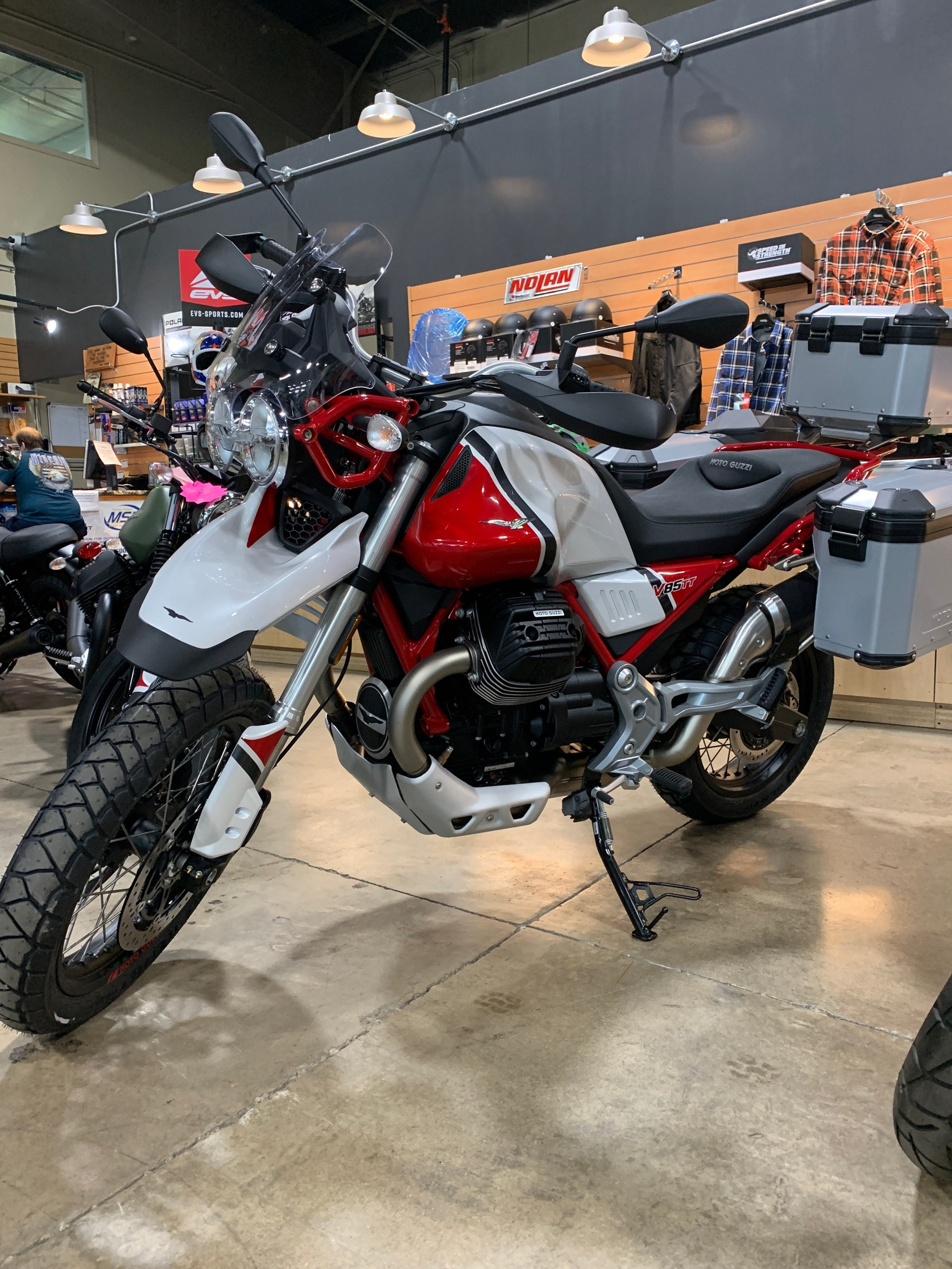 2020 Moto Guzzi V85 TT Adventure in Woodstock, Illinois - Photo 1