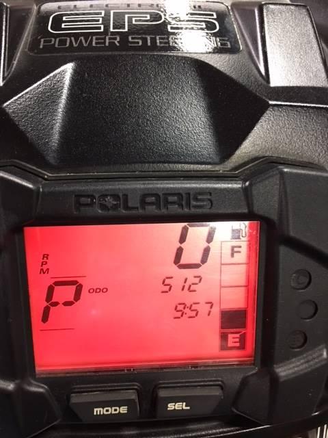 2009 Polaris Sportsman 550 XP EFI  with EPS 5
