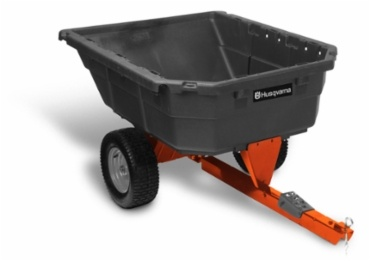 2015 Husqvarna POLY SWIVEL DUMP CART in Woodstock, Illinois