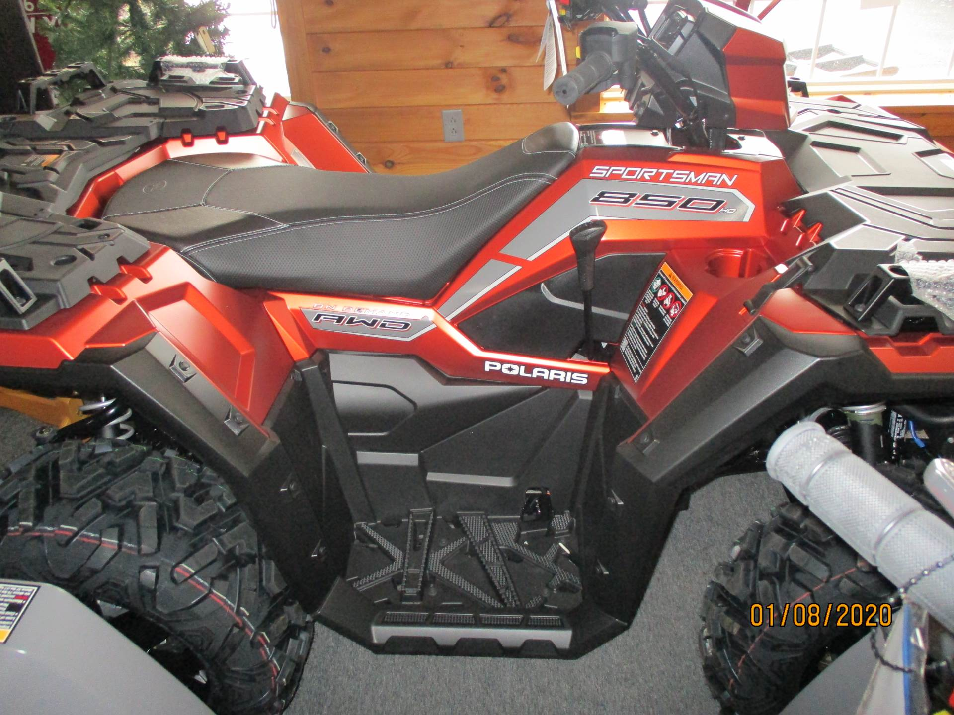 2020 Polaris Sportsman 850 Premium Trail Package in Little Falls, New York - Photo 2