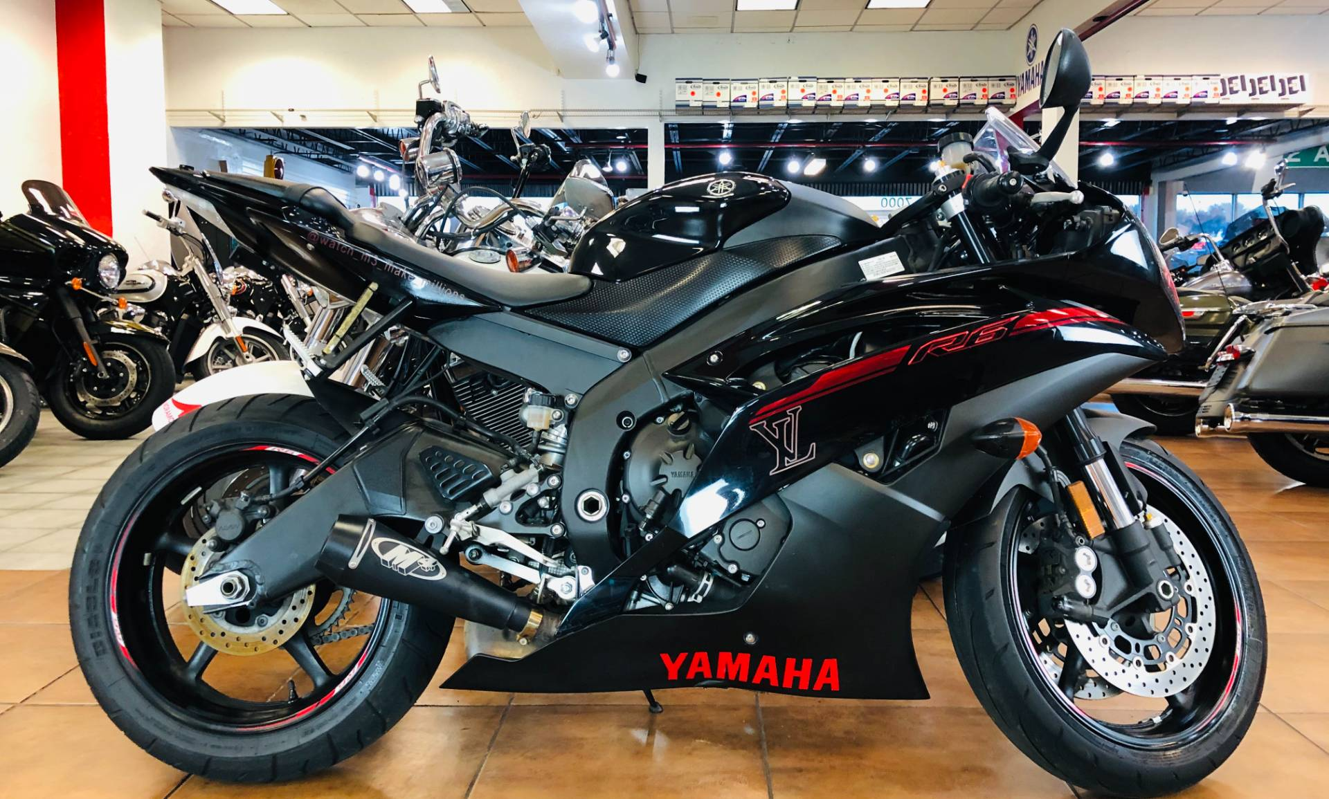 2015 Yamaha YZF-R6 in Pinellas Park, Florida - Photo 1