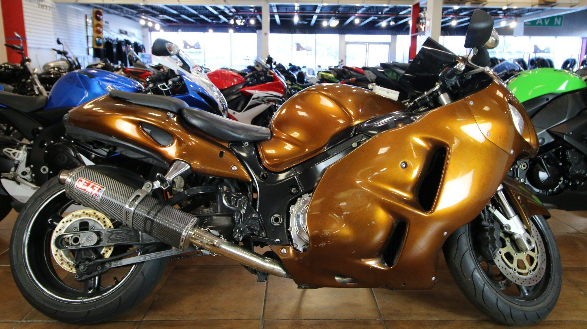 2002 Suzuki Hayabusa™ 1300 in Pinellas Park, Florida - Photo 1