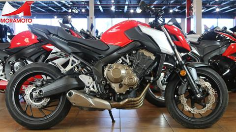 2018 Honda CB650F in Pinellas Park, Florida