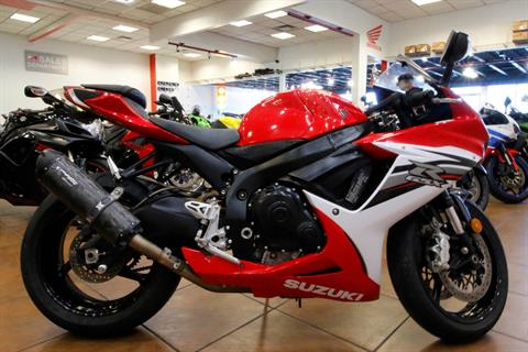 2013 Suzuki GSX-R600™ in Pinellas Park, Florida