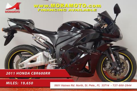 2011 Honda CBR®600RR in Pinellas Park, Florida