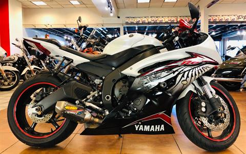 2012 Yamaha YZF-R6 World GP 50th Anniversary Edition in Pinellas Park, Florida - Photo 1
