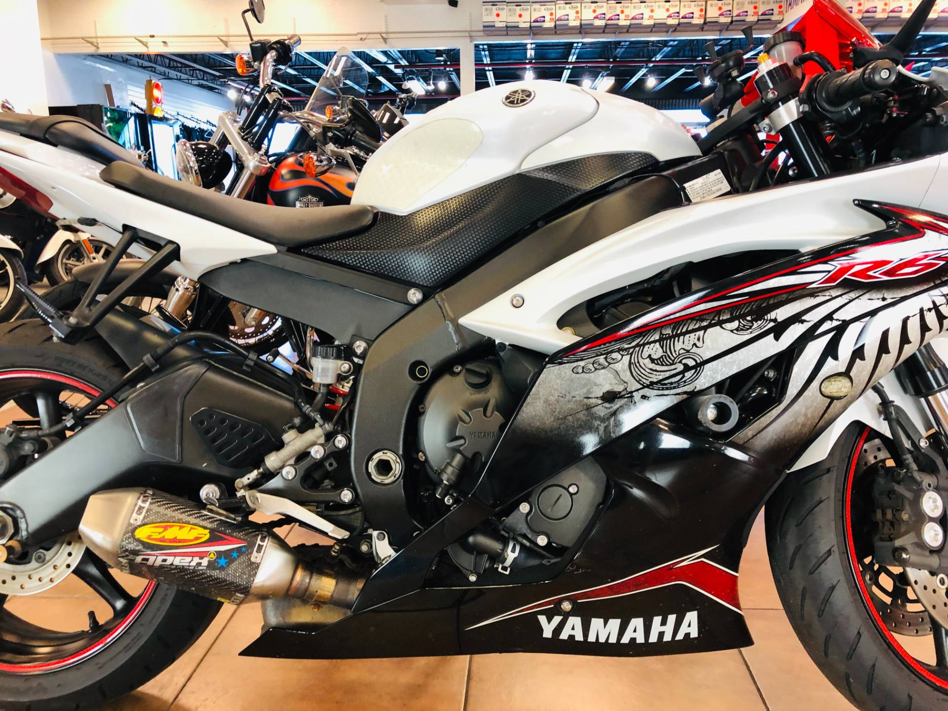 2012 Yamaha YZF-R6 World GP 50th Anniversary Edition in Pinellas Park, Florida - Photo 6