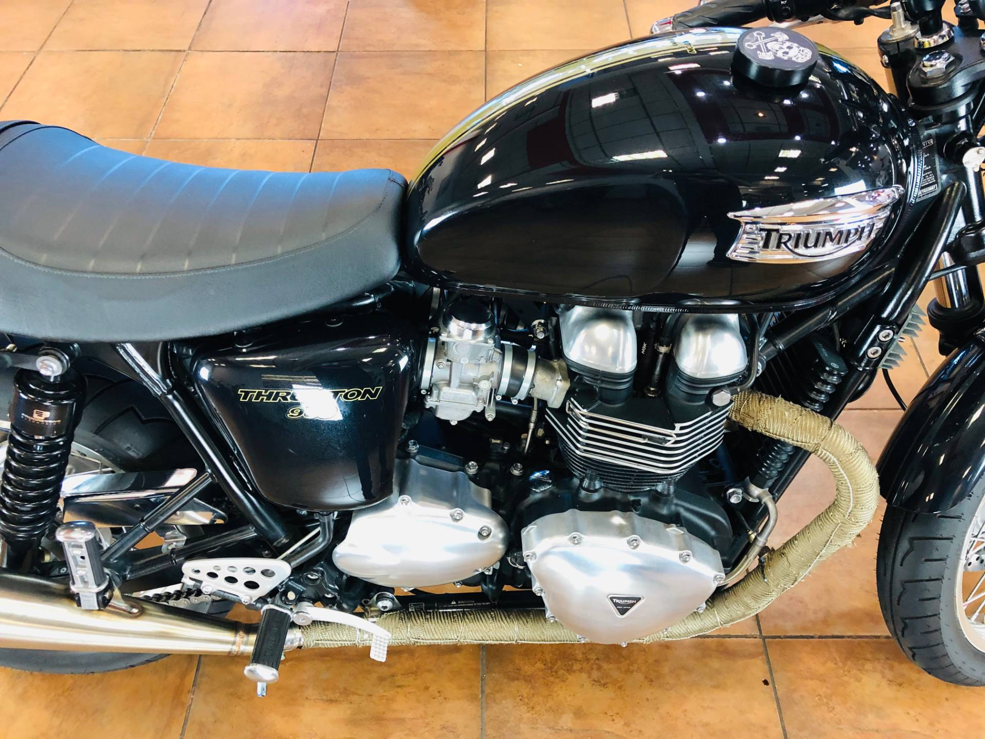 2014 Triumph Thruxton in Pinellas Park, Florida - Photo 9