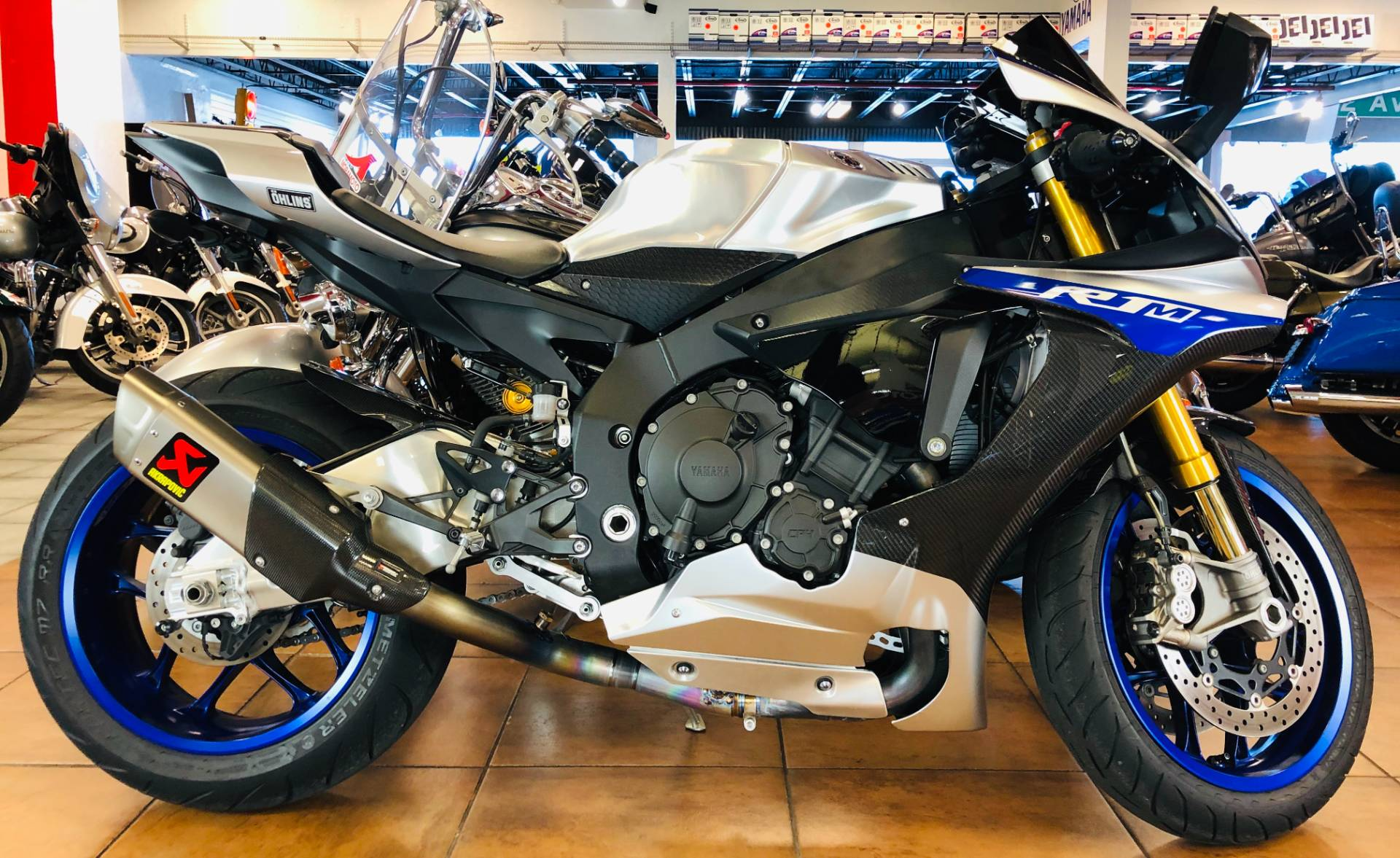 2017 Yamaha YZF-R1M in Pinellas Park, Florida - Photo 1