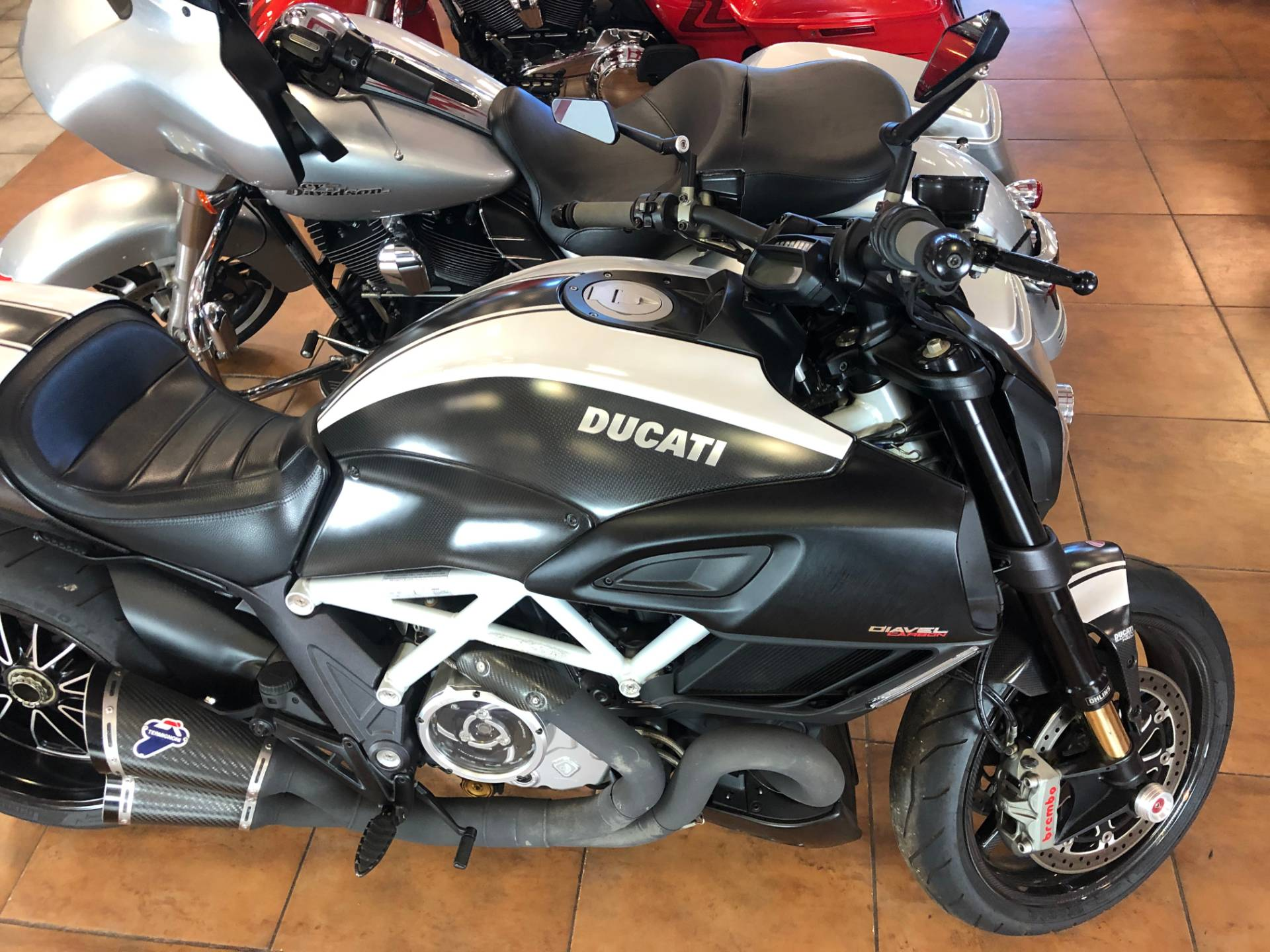 2015 Ducati Diavel Carbon in Pinellas Park, Florida - Photo 8