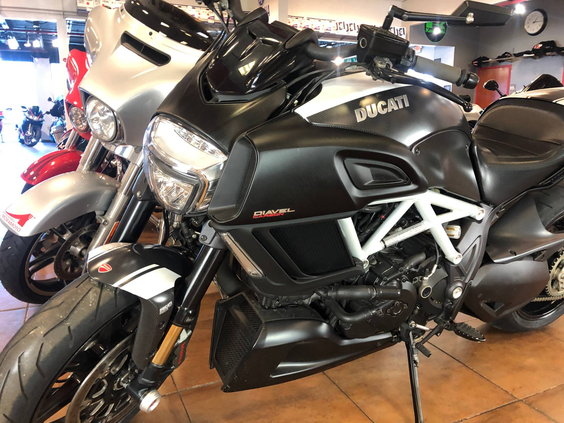 2015 Ducati Diavel Carbon in Pinellas Park, Florida - Photo 13